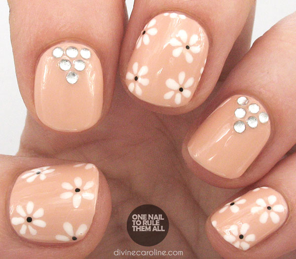 41 wedding nail art designs - 40+ Amazing Bridal Wedding Nail Art for Your Special Day
