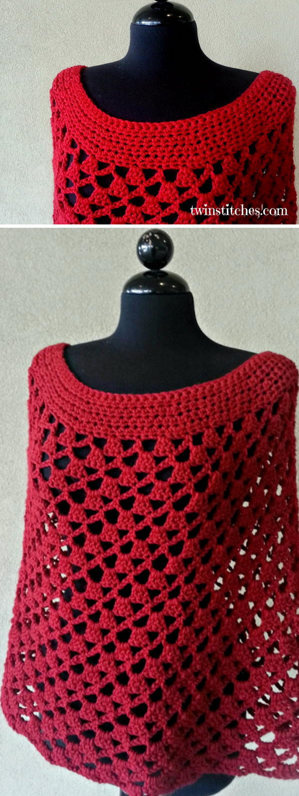 14 crochet women capes poncho ideas - 20 Crochet Women Capes and Poncho Ideas