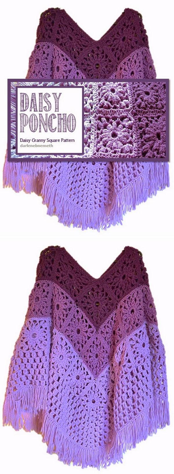 18 crochet women capes poncho ideas - 20 Crochet Women Capes and Poncho Ideas