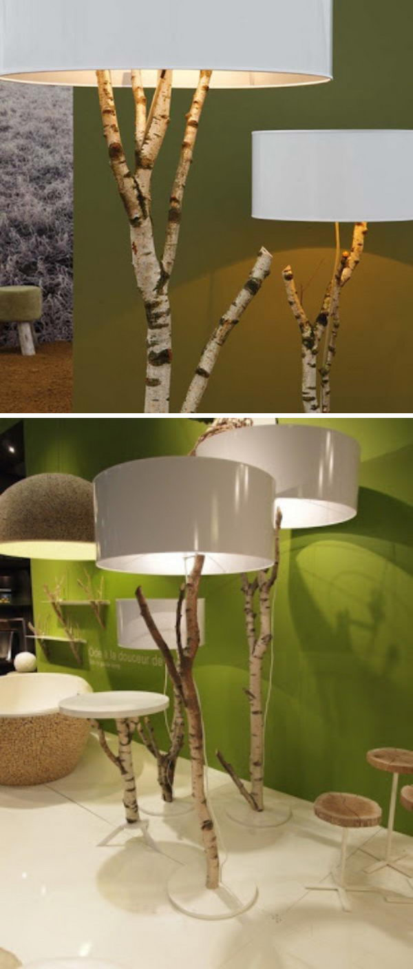 12 lamp ideas diy - 20 Easy DIY Lamp Ideas for Home Decor