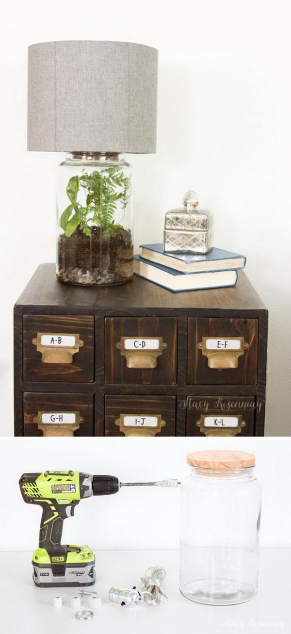 5 lamp ideas diy - 20 Easy DIY Lamp Ideas for Home Decor