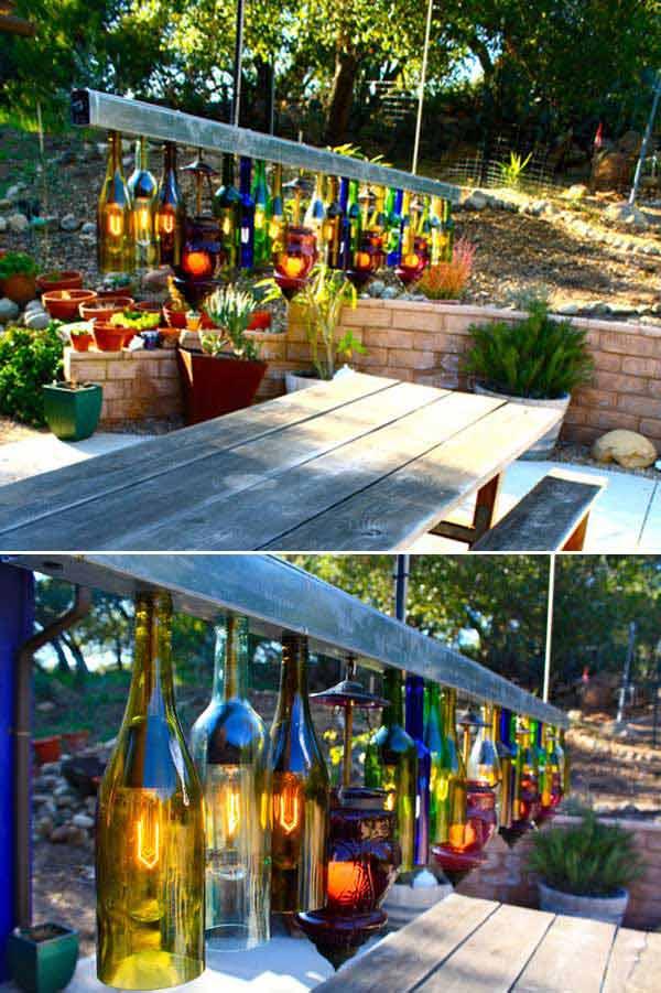 15 backyard lighting diy ideas - 20+ DIY Backyard Lighting Ideas