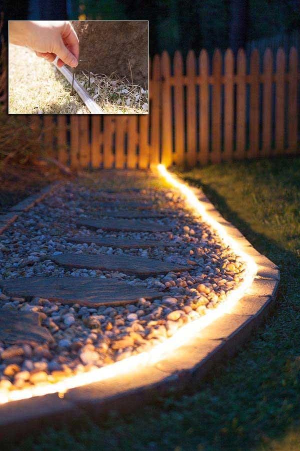 20 backyard lighting diy ideas - 20+ DIY Backyard Lighting Ideas