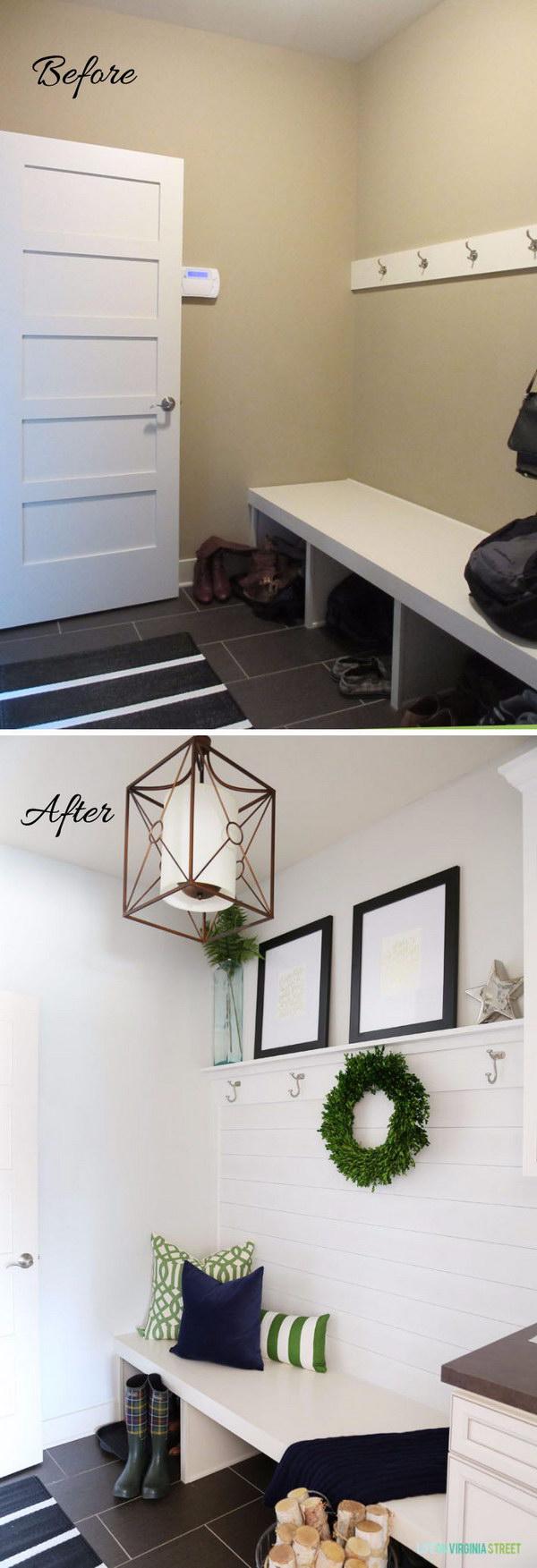 18 entryway makeover diy ideas tutorials - 30+ DIY Ideas to Give a Makeover to a Your Entryway