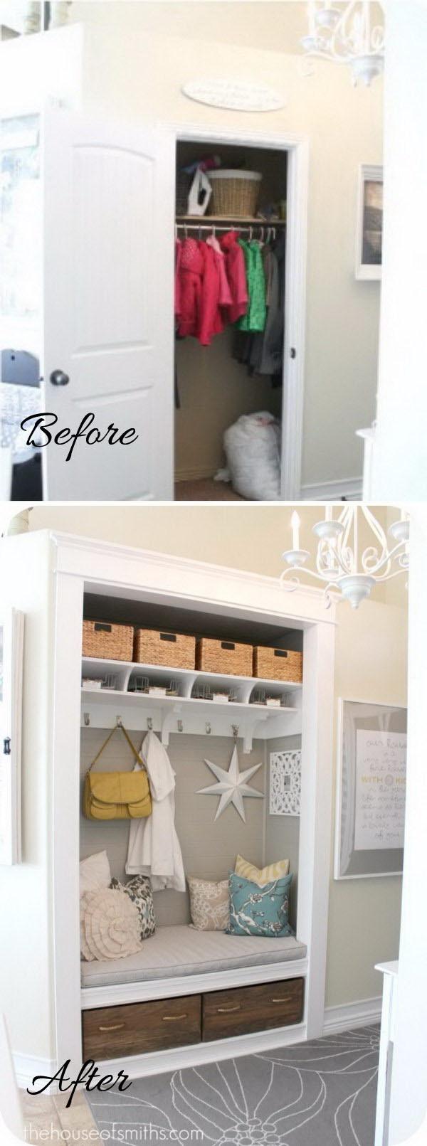 2 entryway makeover diy ideas tutorials - 30+ DIY Ideas to Give a Makeover to a Your Entryway