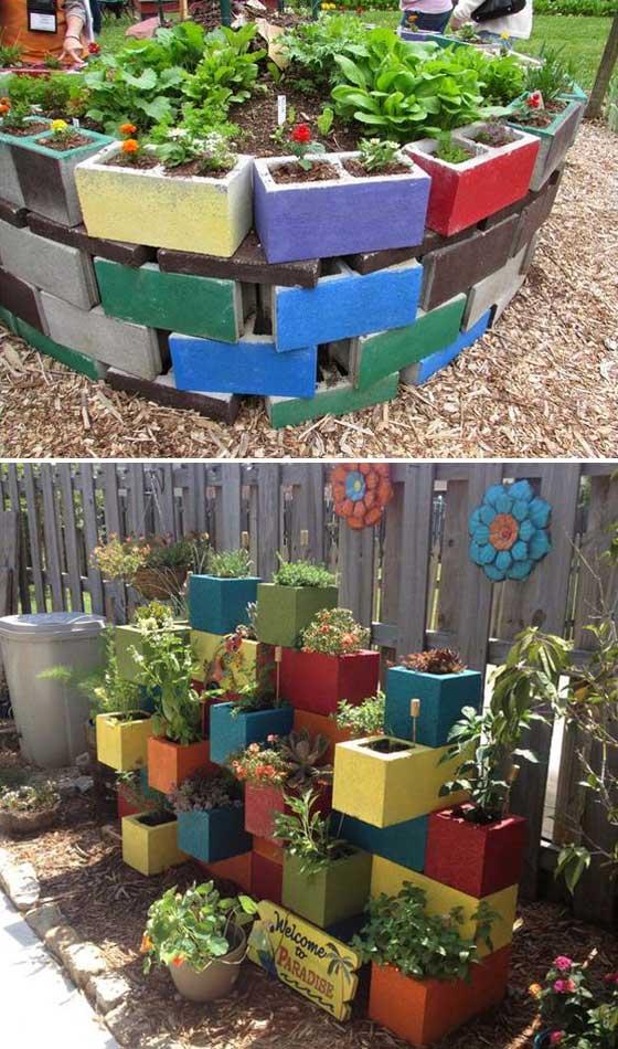 15 garden bed planter diy ideas - 20 Cool DIY Garden Bed and Planter Ideas
