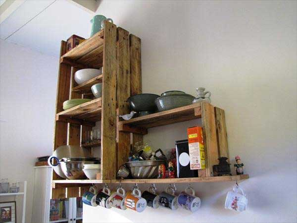 7 kitchen pallet diy ideas - 15+ Cool and Easy DIY Pallets Ideas for Your Kitchen