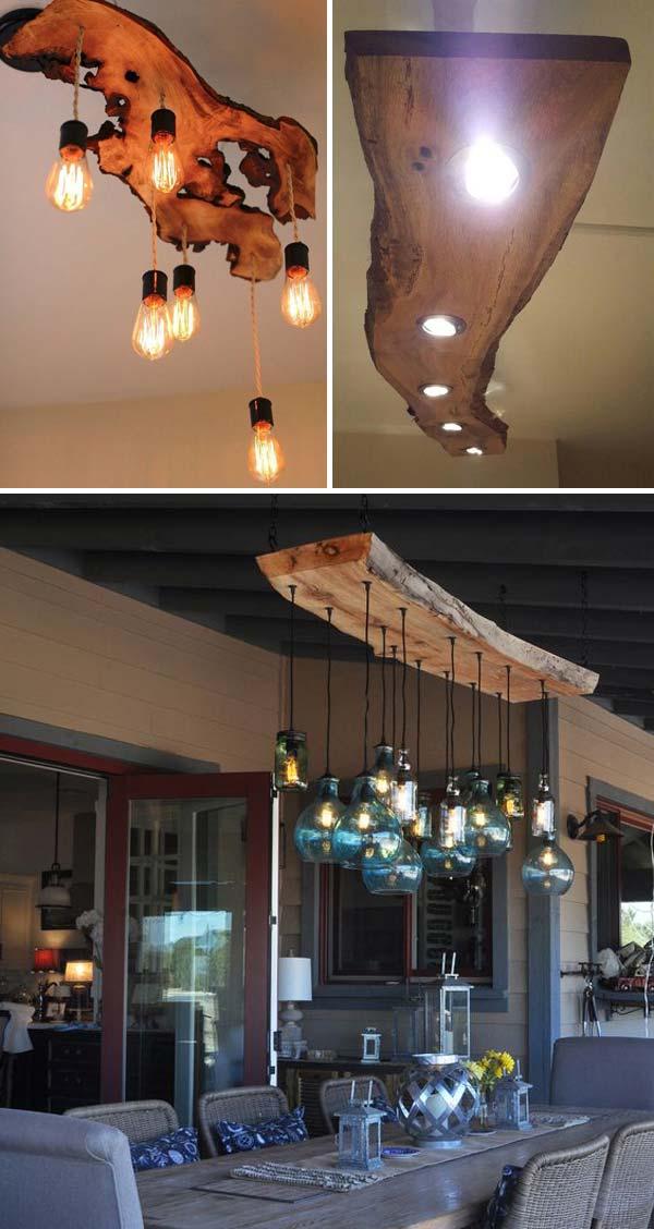 11 live edge wood decoration ideas - 20 Awesome Live Edge Wood Decoration Ideas
