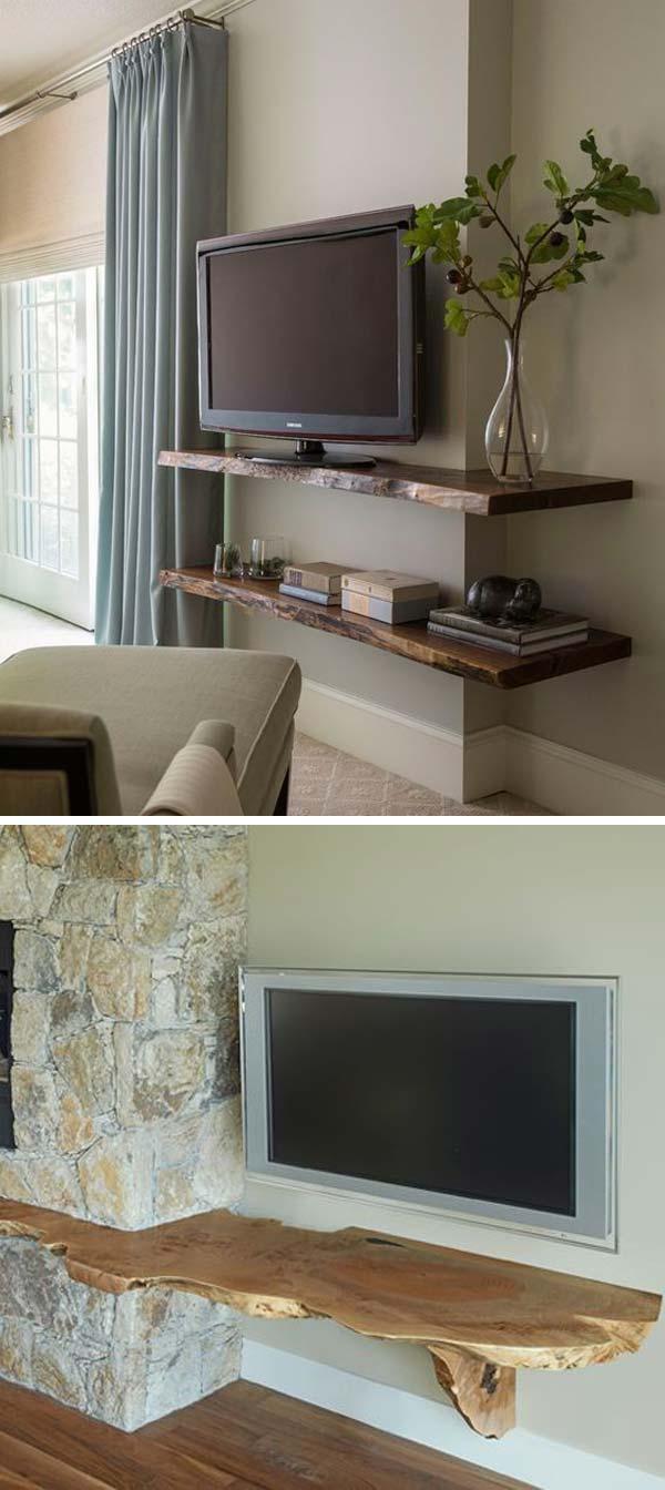 2 live edge wood decoration ideas - 20 Awesome Live Edge Wood Decoration Ideas
