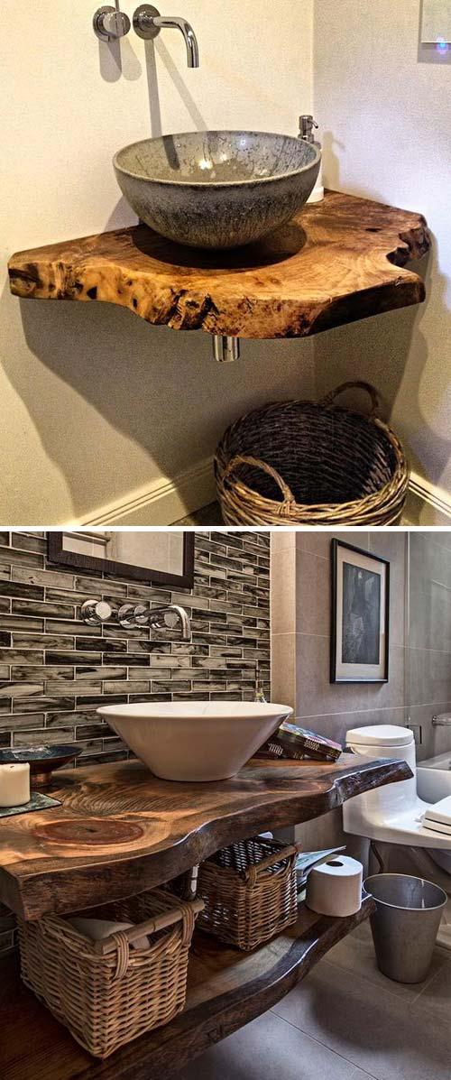 8 live edge wood decoration ideas - 20 Awesome Live Edge Wood Decoration Ideas