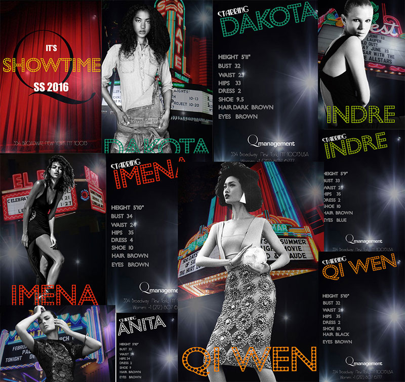 Q Management SS16 Model Show Package