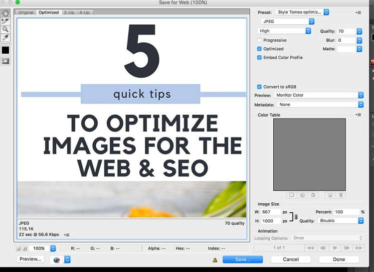 How to optimize images for web and SEO for increased traffic