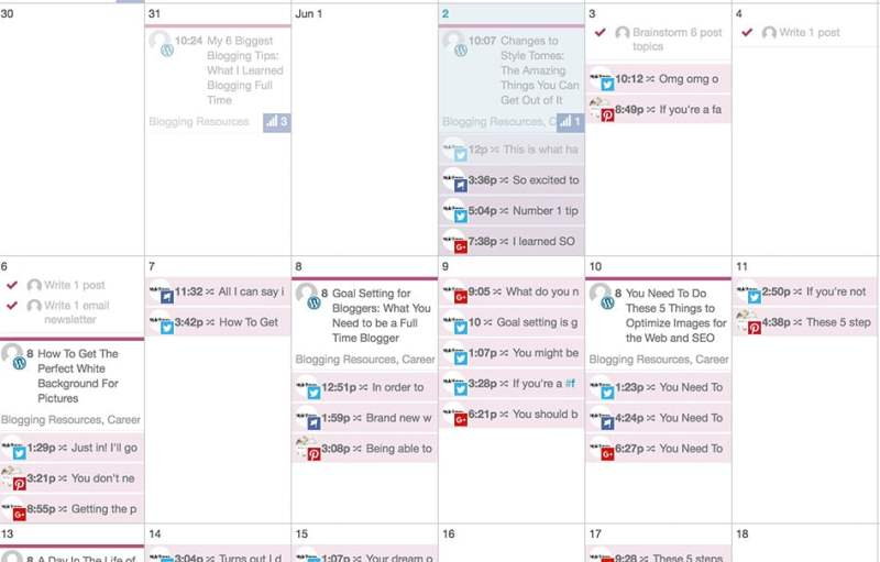 A Day in My Life As A Blogger: My schedule