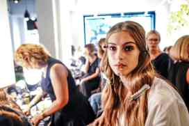Backstage at Fashion Week: Style Tomes at Rebecca Minkoff