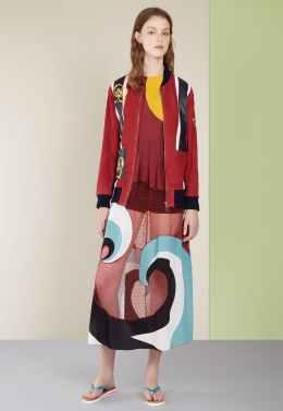 Red Valentino SS17 New York Fashion Week Trends Image via Vogue.com