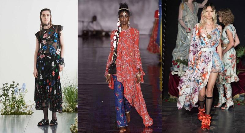 Spring 2017 fashion trends: Florals