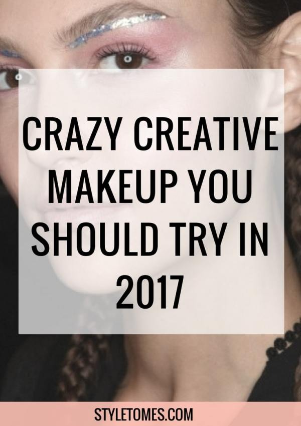 Try This in 2017: Crazy Creative Makeup