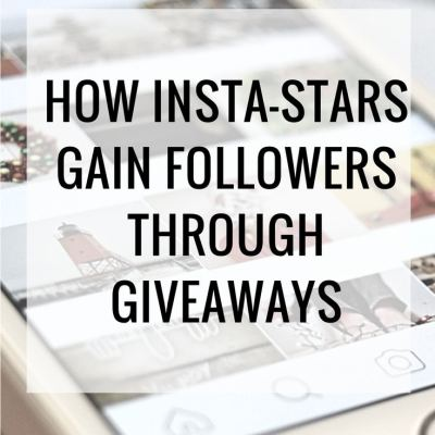 Social Media Strategies: Gain Followers with Instagram Giveaways