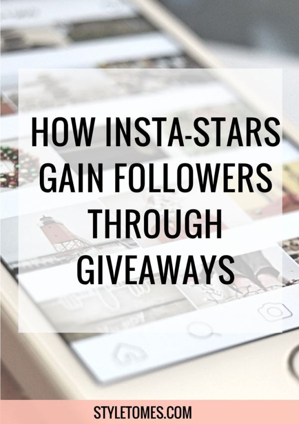 Social Media Strategies: Gain Followers with Instagram Giveaways