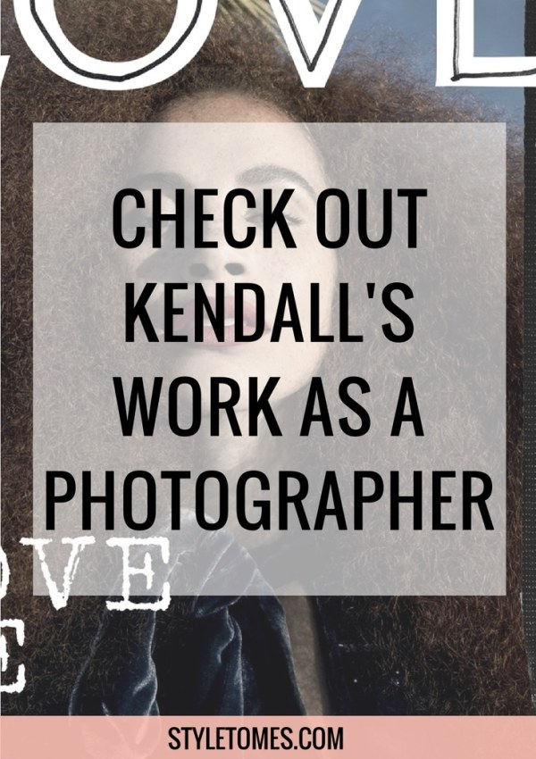 Kendall Jenner Plays Photographer, Causes An Existential Crisis