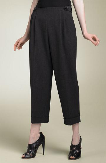 Robert Rodriguez Pleated Crop Pant, $275, Nordstrom.com