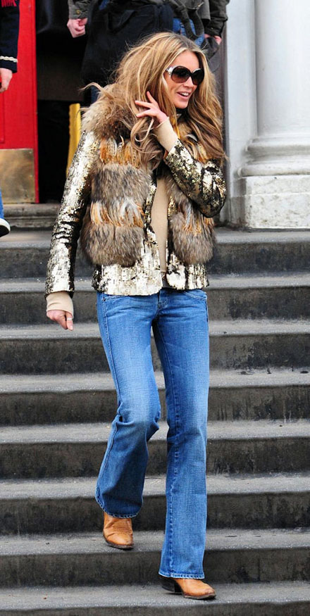 There are some great faux fur options out these days, take it or leave it, but I still like it.