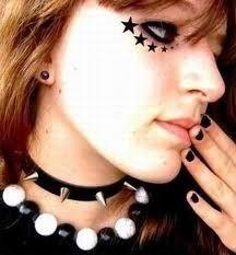 """Résultat de recherche d'images pour """"Emo maquillage"""""""