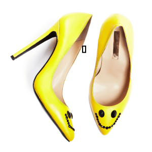 Smiley shoes, price tbc