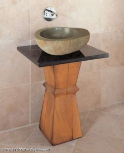 Styleture      Notable Designs   Functional Living SpacesNature s     Madera Pedestal Sink