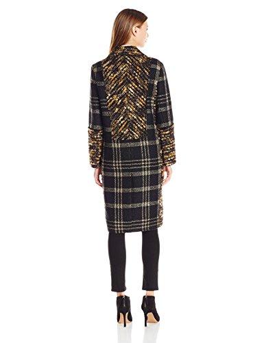 Rachel Zoe Women's Agatha Lurex Plaid Coat