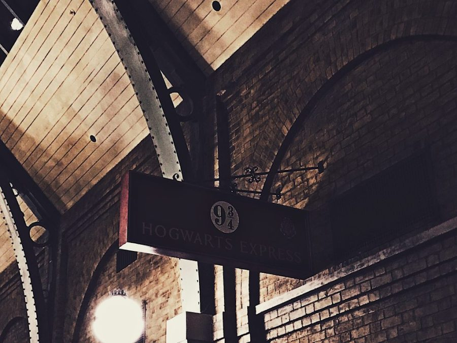 The Hogwarts Express Platform 9 3/4 at Universal Studios Orlando