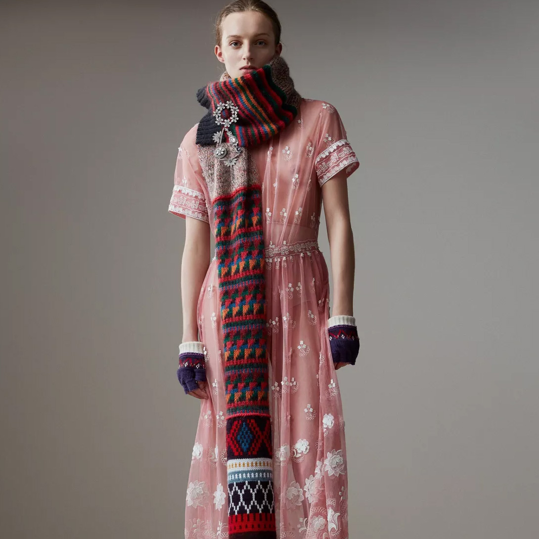 Burberry Mouline Scarf