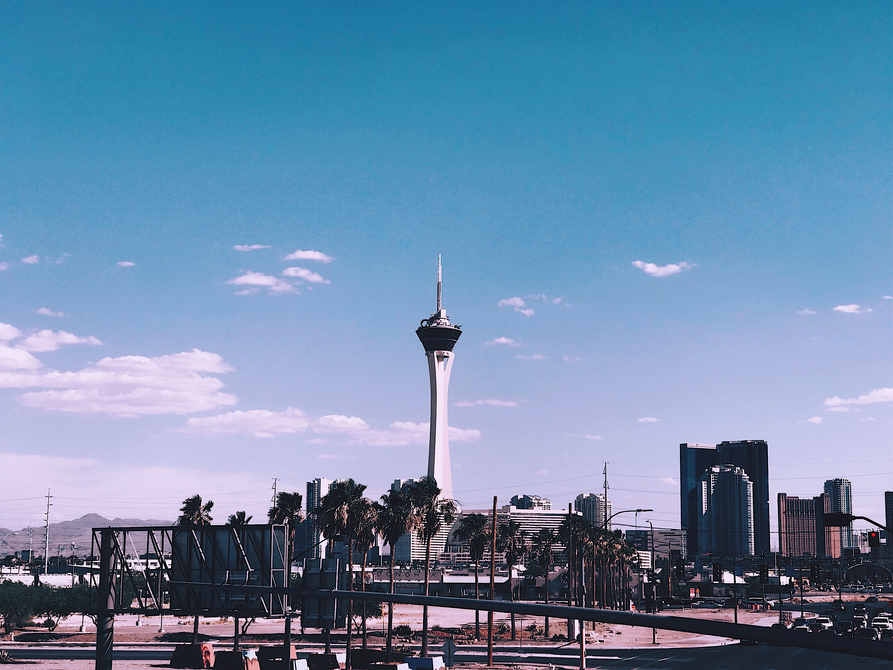 Stratosphere Las Vegas Style Unsettled