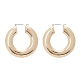 Forever21 Round Hoop Earrings