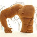 boyfriend muscle pillow