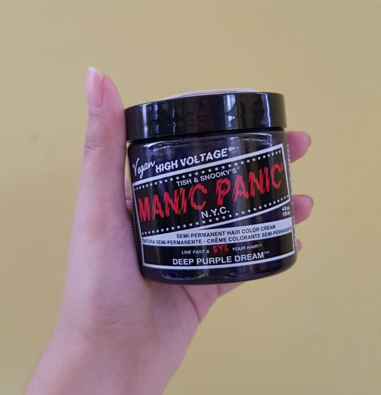 Manic Panic Hair Dye Review Style Vanity