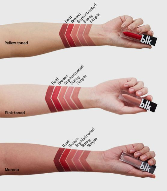 blk long lasting liquid matte lipstick review and swatch