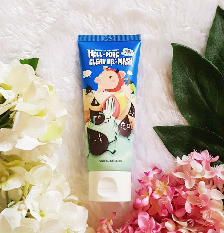 elizavecca hell pore clean up mask review