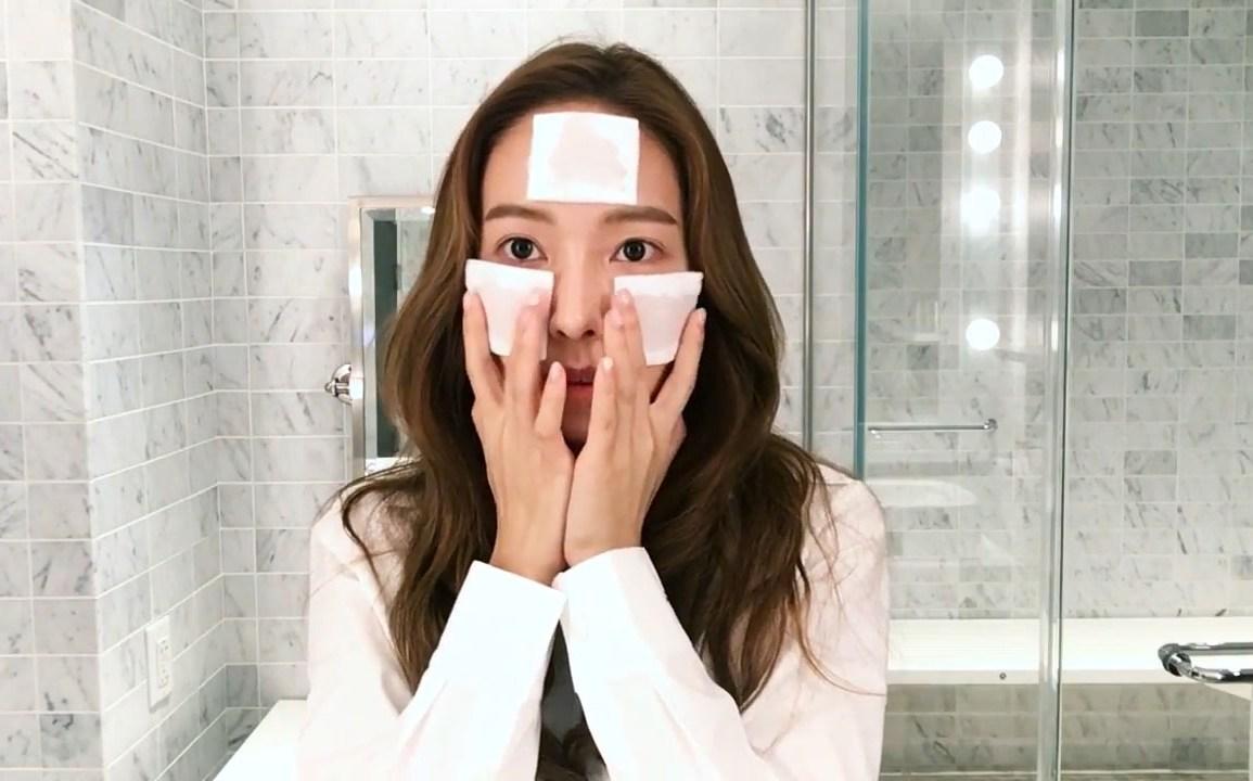 toner mask - jessica jung beauty secret