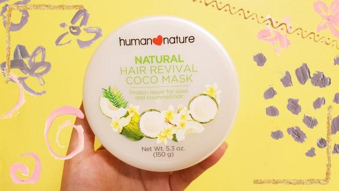 human nature natural hair revival coco mask review