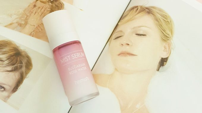 heimish bulgarian rose water mist serum review | style vanity