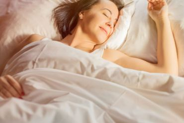 benefits of good night sleep woman