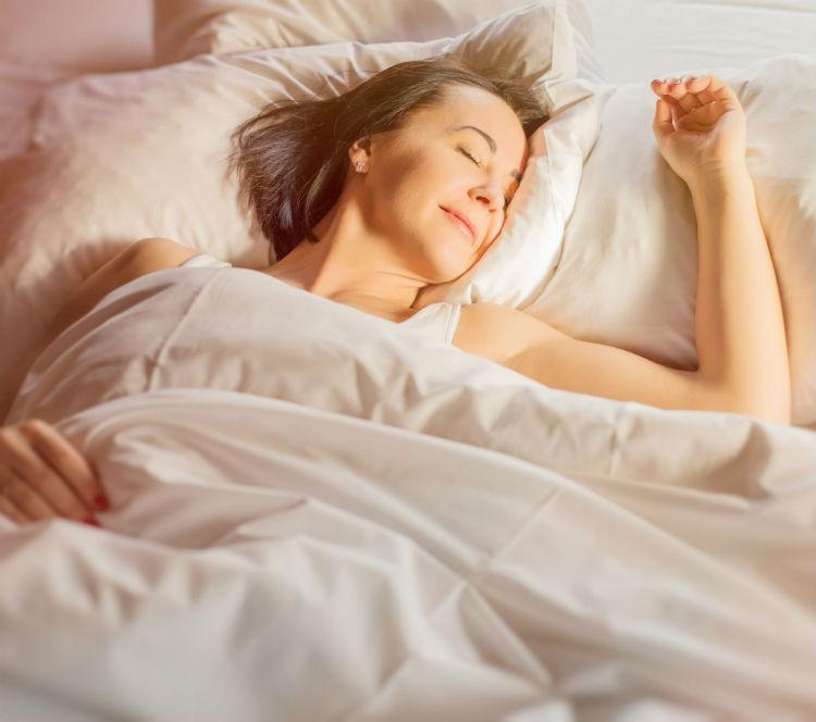 benefits of good night sleep woman