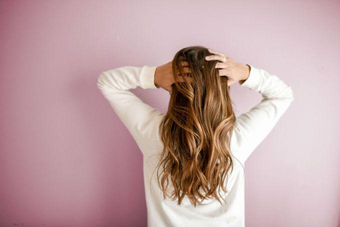 long hair pink