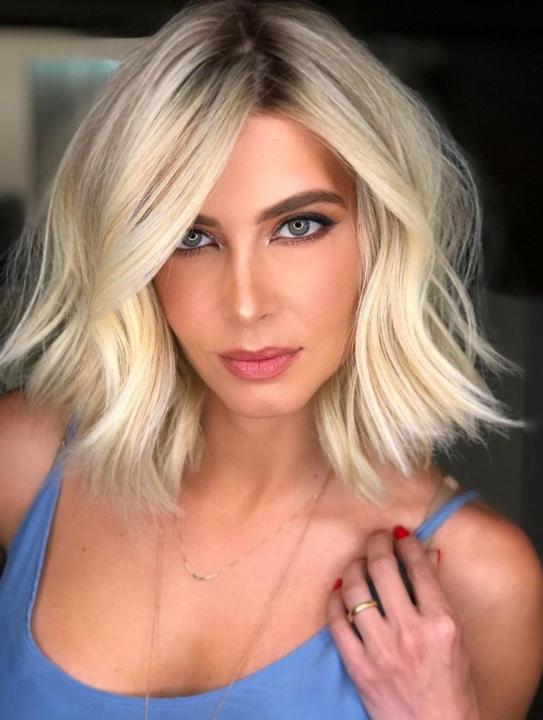 hair blonde beauty haircut