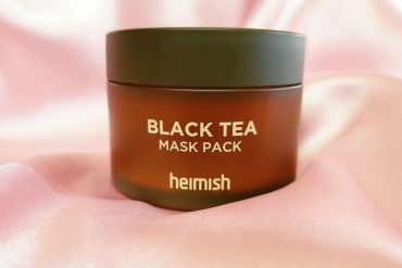 heimish black tea mask pack review