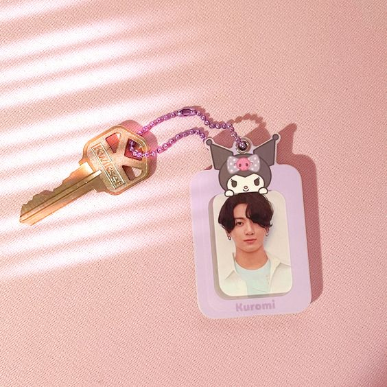 where to buy sanrio photocard holders - alyssa martinez - bts jungkook mots and be essential photocard