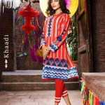 Colorful Eid Wear Lawn Dresses For Girls By Khaadi 2015