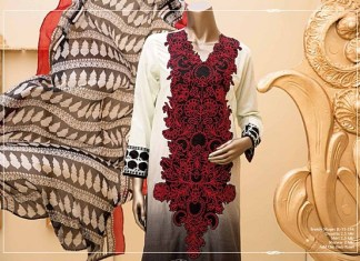 Newly Launched Eid Dresses By Junaid Jamshed For Girls 2015