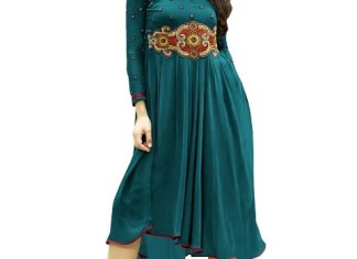 Eid Long Kurti Indian Designs For Girls 2015